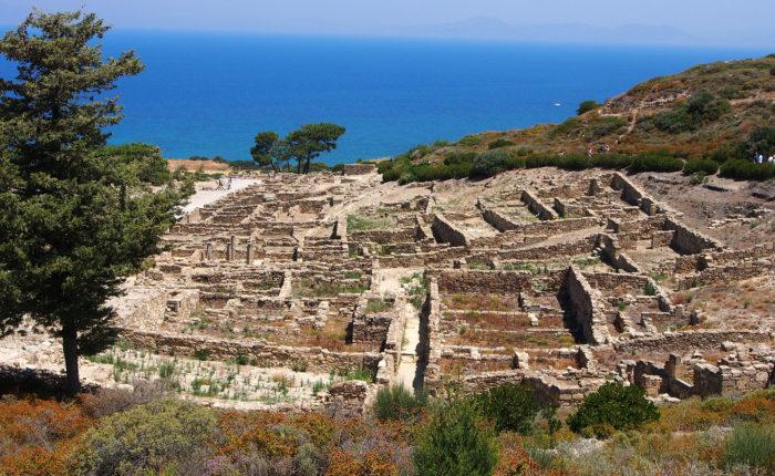 Kamiros Rodi Grecia