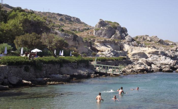 Baia di Kalithea Rodi Grecia
