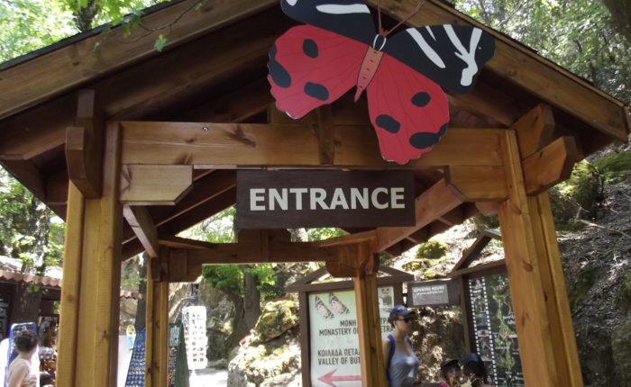 La Valle delle Farfalle a Rodi, Grecia