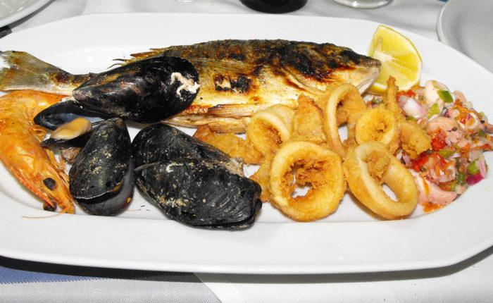 Cosa mangiare ad Haraki Rodi Grecia