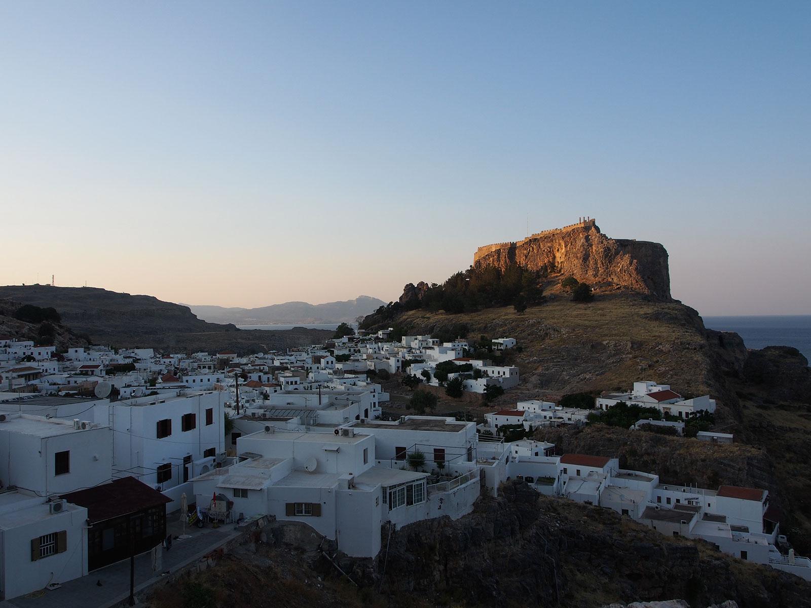 Lindos Rodi Grecia